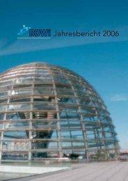 BDWi -- Jahresbericht 2006