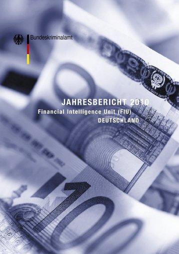 FIU Jahresbericht 2010