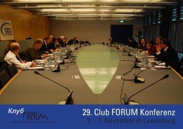 Luxemburg - Deutsch-Russisches Forum eV
