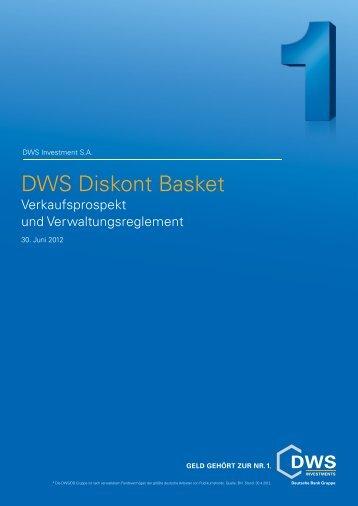 DWS Diskont Basket - Stockselection GmbH