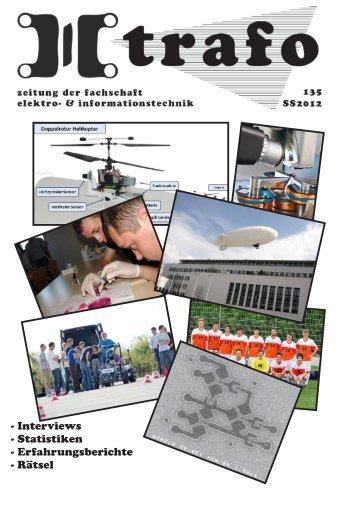 Trafo #135 - Fachschaft Elektrotechnik und Informationstechnik - TUM