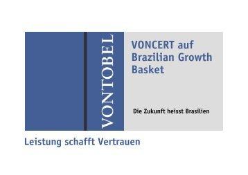 VONCERT auf Brazilian Growth Basket - Vontobel Holding AG