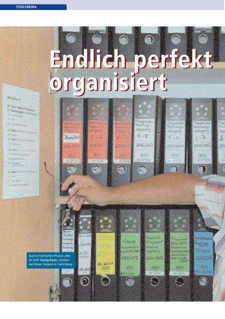 Endlich perfekt organisiert Endlich perfekt organisiert - Kurt ...