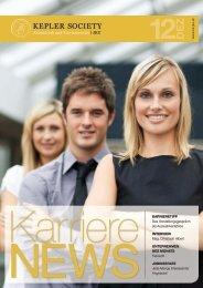 Ausgabe Dezember - Kepler Society - JKU