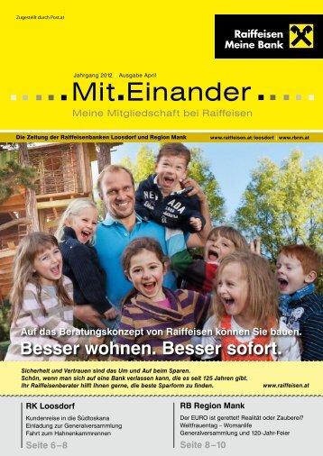 Mit Einander - Raiffeisenbank Region Mank