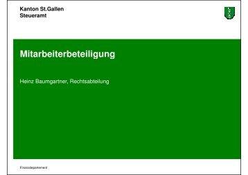 Mitarbeiterbeteiligung - Heinz Baumgartner (295 kb, PDF)