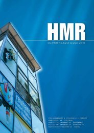 Die HMR Treuhand Gruppe 2010 - HMR Management & Treuhand AG