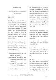 Medizinrecht - Baumgartner und Kollegen