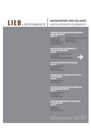 LIEB. - Baumgartner und Kollegen
