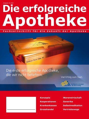 Ausgabe 03.2009 - Die erfolgreiche Apotheke