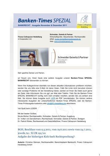 PDF Download - Schneider, Geiwitz & Partner