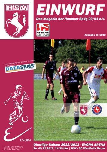 Stadionmagazin öffnen - Zur HSV-Homepage
