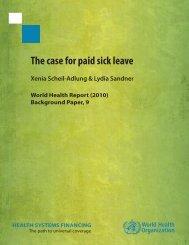 Complete footnotes - World Health Organization