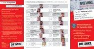 Kommunalwahl am 28. September 2008 - DIE LINKE. Kreisverband ...