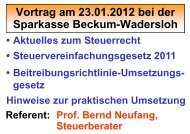 ab 2012 - Sparkasse Beckum-Wadersloh