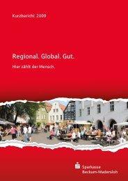 Regional. Global. Gut. - Sparkasse Beckum-Wadersloh