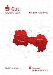 Kurz-Bericht - Sparkasse Beckum-Wadersloh