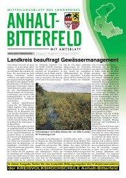 Ausgabe 1 vom 11. Januar 2013 - Landkreis Anhalt-Bitterfeld