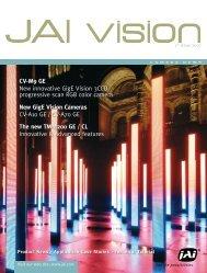 New GigE Vision Cameras - JAI Pulnix