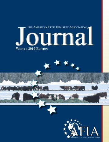 THE AMERICAN FEED INDUSTRY ASSOCIATION WINTER 2010 ...