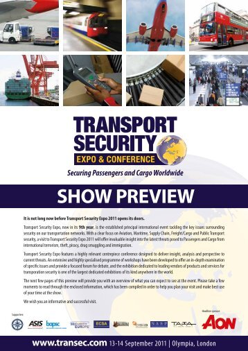 SHOW PREVIEW - Transport Security Expo 2012