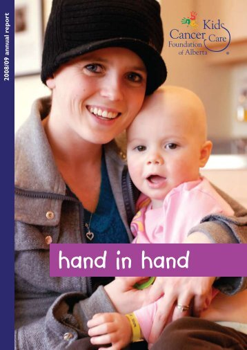 hand in hand - Kids Cancer Care
