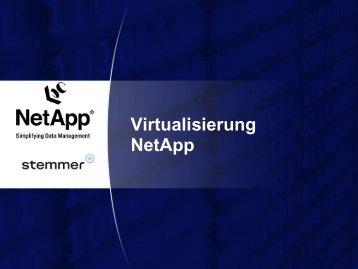 Virtualisierung VMware & NetApp - Stemmer
