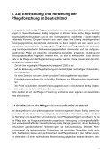 Agenda Pflegeforschung für Deutschland - IPP - Universität Bremen - Seite 4