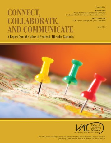 Connect, Collaborate, and Communicate - American Library ...
