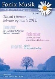 januar februar marts - Fønix Musik