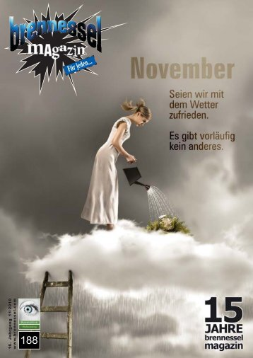 brennessel magazin November 2010