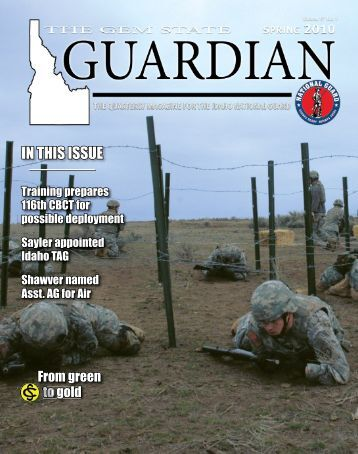 The Gem State Guardian - Spring 2010 - Keep Trees