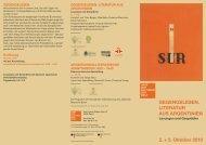 2. + 3. Oktober 2010 - Haus der Kulturen der Welt