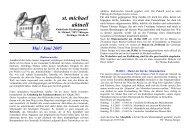 Mai-Juni 2005 - Katholische Kirchengemeinde St. Michael