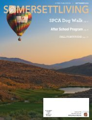 SPCA Dog Walk pg. 4 - Somersett Owners Association