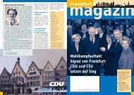 Nr.34 Februar 2002 - CDU-Kreisverband Frankfurt am Main