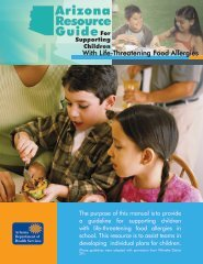 Arizona Resource Guide - Food Allergy Angel