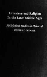 Literature and religion in the later Middle Ages ... - Index of