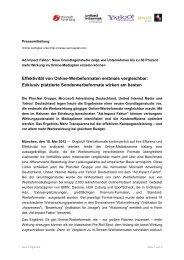 Effektivität von Online-Werbeformaten erstmals ... - plan.net austria