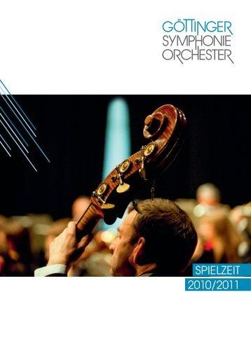 Download Saisonheft (8,7 MB) - Göttinger Symphonie Orchester