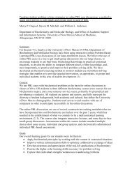 1 Tracking student problem-solving strategies in online PBL case ...