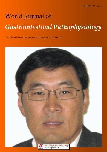 4 - World Journal of Gastroenterology