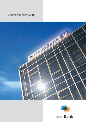 Geschäftsbericht 2009 - Levobank Vereinte Volksbanken Lebach ...