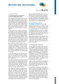 Geschäftsbericht 2009 - Levobank Vereinte Volksbanken Lebach ... - Seite 7