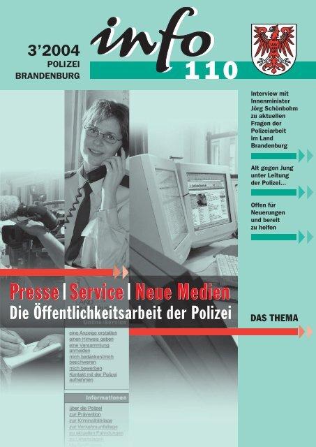 Neue Medien Presse Service Neue Medien - Polizei Brandenburg ...