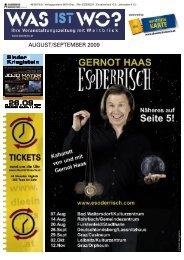 AUGUST/SEPTEMBER 2009 Binder& Krieglstein