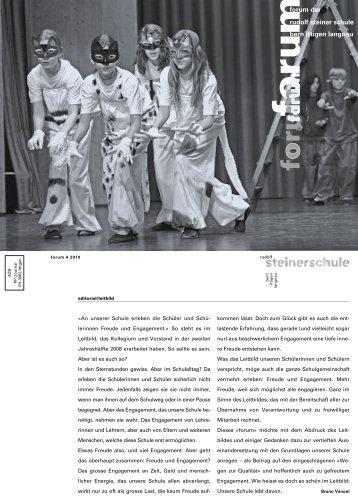 Leitbild - Rudolf Steiner Schule Bern und Ittigen