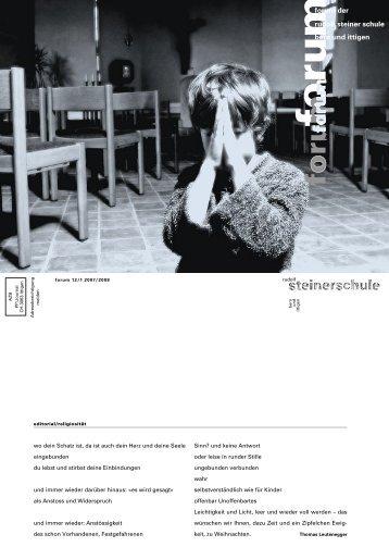 1 - Rudolf Steiner Schule Bern und Ittigen