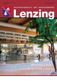 Gemeindezeitung Oktober 2005 - Lenzing