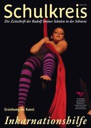 Die Zeitschrift der Rudolf Steiner Schulen in der ... - Schulkreis